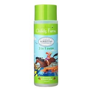 Εικόνα της Childs Farm 3 σε 1 για το Μπάνιο Φράουλα & Μέντα 250ml