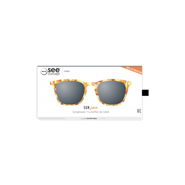 Picture of IZIPIZI Γυαλιά Ηλίου Sun Junior, 5 - 10 Ετών #E Yellow Tortoise