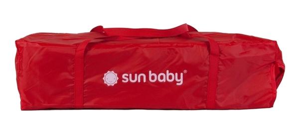 Picture of SunBaby Παρκοκρέβατο Sweet Dreams, Red
