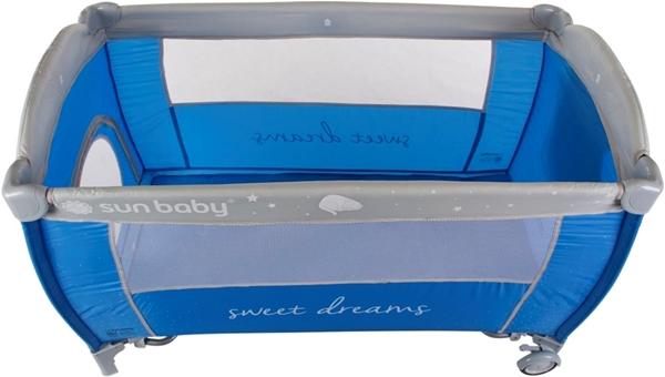 Picture of SunBaby Παρκοκρέβατο με 2ο Επίπεδο Sweet Dreams, Blue