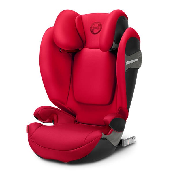Picture of Cybex Παιδικό Κάθισμα Solution S-Fix, 15-36 kg. Rebel Red