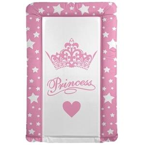 Εικόνα της First Steps Μαλακή Αλλαξιέρα Pink Big Crown Princess Star