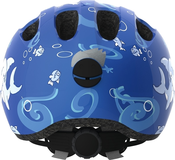 Picture of Abus Παιδικό Κράνος Smiley 2.0 Blue Shark Small