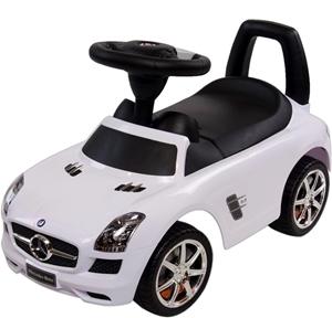 Εικόνα της SunBaby Ποδοκίνητο Αυτοκίνητο Mercedes White