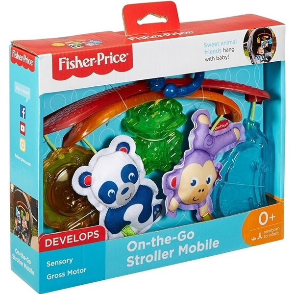 Picture of Fisher Price Μινι Περιστρεφόμενο με Ζωάκια