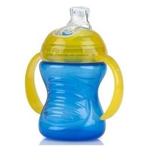Picture of Nuby Εκπαιδευτικό Ποτηράκι Με Χερούλια Κατά Των Διαρροών Grip N Sip 240ml. Blue