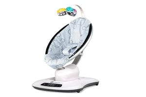 Εικόνα της 4Moms MamaRoo Ρηλάξ - Κούνια New Version 4.0 Silver Plush