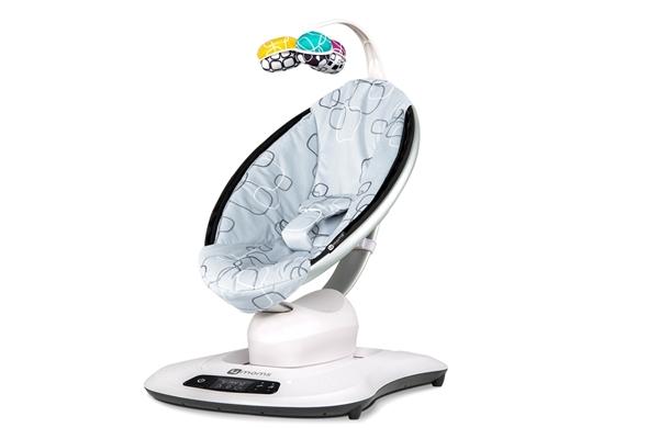 Picture of 4Moms MamaRoo Ρηλάξ - Κούνια New Version 4.0 Silver Plush