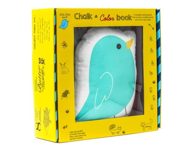 Picture of Jaq Jaq Bird: Σετ δώρου Βιβλίο ζωγραφικής και πουλάκι Jaq Jaq