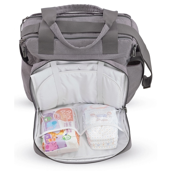 Picture of Inglesina Τσάντα Αλλαγής Aptica Dual Bag, Mineral Grey Melange