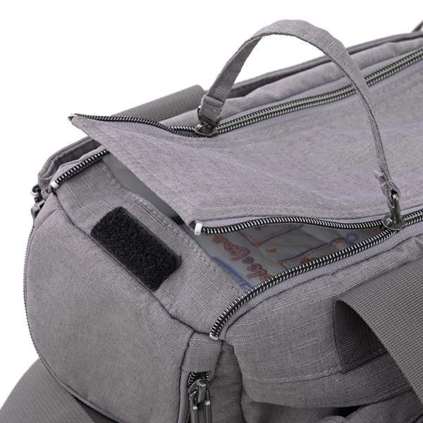 Picture of Inglesina Τσάντα Αλλαγής Aptica Dual Bag, Niagara Blue Melange