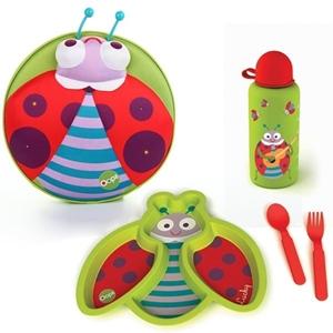 Εικόνα της Oops Starry Σετ φαγητού Ladybug