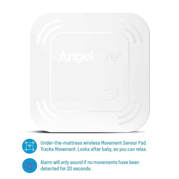 Picture of Angelcare AC517 Συσκευή Ανίχνευσης Αναπνοής με Ασύρματο Αισθητήρα Κίνησης, Αμφίδρομη Ενδοεπικοινωνία με Κάμερα & Οθόνη 5