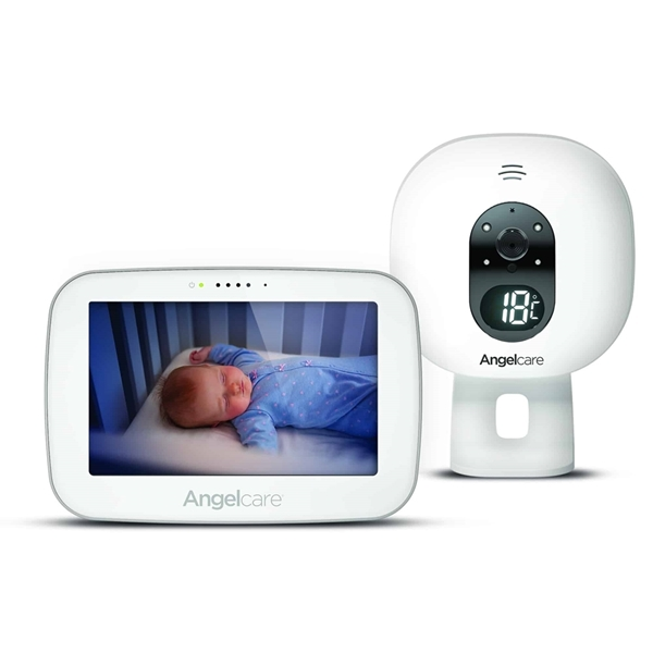Picture of Angelcare AC510 Αμφίδρομη Ενδοεπικοινωνία με Κάμερα & Οθόνη 5