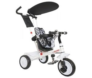Εικόνα της Just Baby Τρίκυκλο Ποδήλατο Leader, White