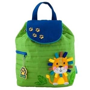 Εικόνα της Παιδικό Σακίδιο Πλάτης Quilted Backpack Lion - Stephen Joseph