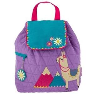 Εικόνα της Παιδικό Σακίδιο Πλάτης Quilted Backpack Llama - Stephen Joseph