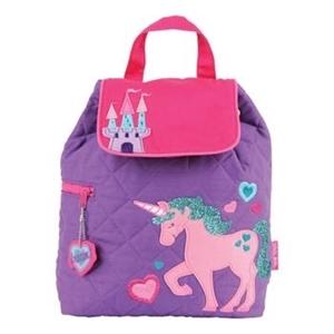 Εικόνα της Παιδικό Σακίδιο Πλάτης Quilted Backpack Unicorn - Stephen Joseph
