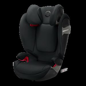 Εικόνα της Cybex Παιδικό Κάθισμα Solution S-Fix, 15-36 kg. Lavastone Black