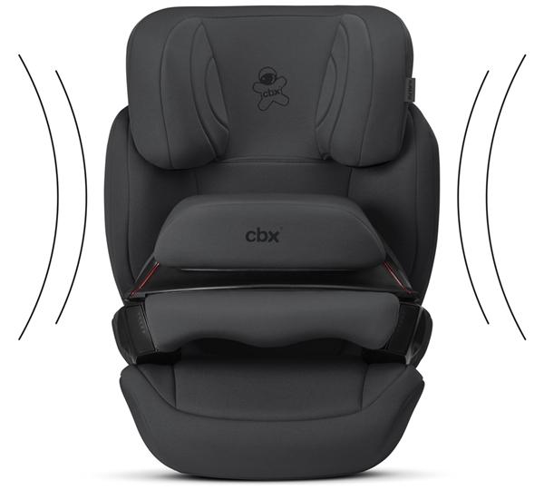 Picture of CBX By Cybex Κάθισμα Αυτοκινήτου Aura Fix 9-36Kg, Black