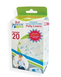 Εικόνα της Potette Plus Ανταλλακτικές Σακούλες σε Ρολό 20 τεμ.
