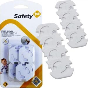 Picture of Safety 1st Ασφάλειες Πρίζας Περιστρεφόμενες 8 τεμάχια