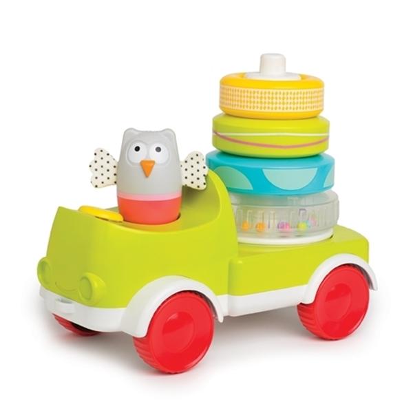 Picture of Taf Toys Παιχνίδι Δραστηριοτήτων Φορτηγό Crawl N Stack