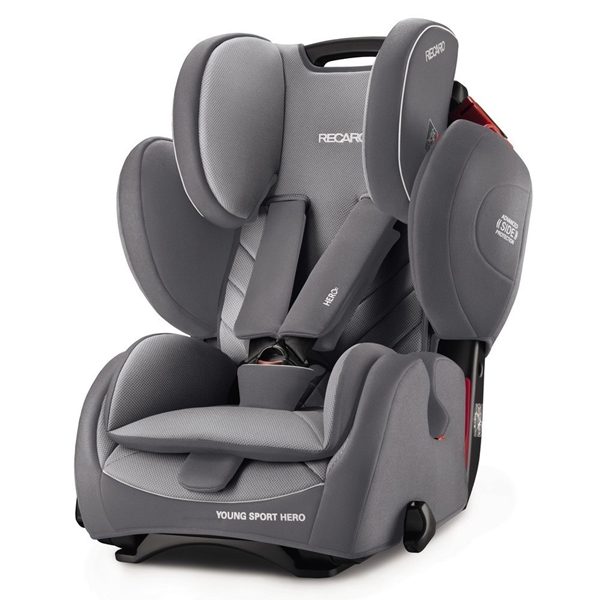 Picture of Recaro Young Sport Hero, Aluminium Grey 9-36kg.