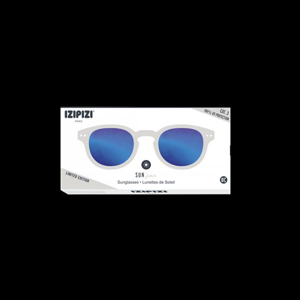 Picture of IZIPIZI Γυαλιά Ηλίου Sun Junior, 5 - 10 Ετών #C White Mirror