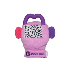 Picture of Gummee Glove Γάντι οδοντοφυίας 3-6M Ροζ