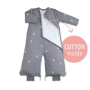 Εικόνα της Bemini Magic Bag Υπνόσακος Pady Jersey Grey Moon 3 Tog, 3-9 Μηνών