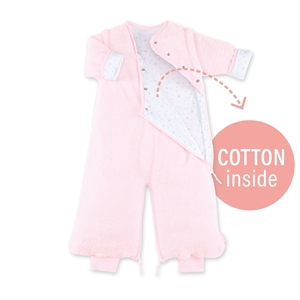 Picture of Bemini Magic Bag Υπνόσακος Softy Jersey Pink 2 Tog, 3-9 Μηνών