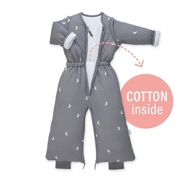 Picture of Bemini Magic Bag Υπνόσακος Pady Jersey Grey Moon 3 Tog, 6-24 Μηνών