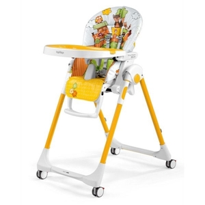 Picture of Peg Perego Κάθισμα Φαγητού Prima Pappa Follow Me, Fox Friends + ΔΩΡΟ μπάρα παιχνιδιών