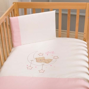 Picture of FunnaBaby Σετ Σεντόνια Sweet Dream Pink