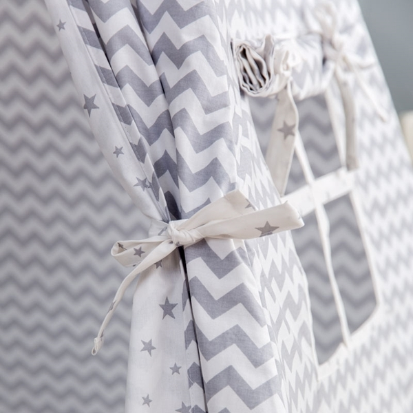 Picture of FunnaBaby Παιδική σκηνή Tepee Paloma Grey