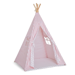 Picture of FunnaBaby Παιδική σκηνή Tepee Georgia Pink