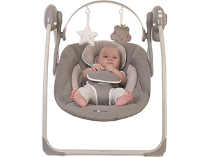Picture of Bo Jungle Portable Swing - Ρηλάξ Κούνια Grey