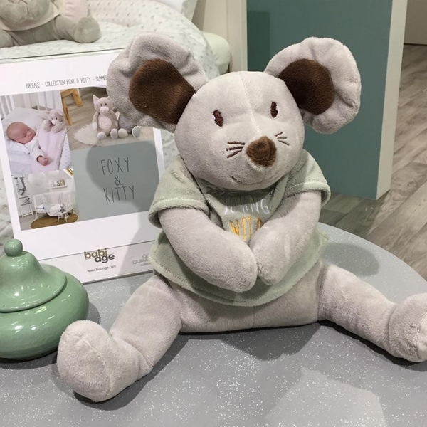 Picture of Babiage DooDoo Συσκευή Λευκών Ήχων - Grey Mouse
