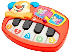 Picture of Fisher Price Κόκκινο Πιανάκι με Σκυλάκι #DLK17