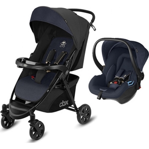 Picture of CBX Πολυκαρότσι Woya Travel System 2 in 1, Jeans