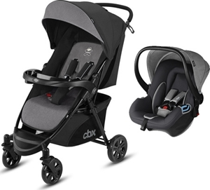 Picture of CBX Πολυκαρότσι Woya Travel System 2 in 1, Grey