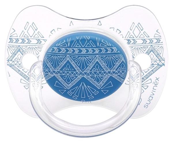 Picture of Suavinex Πιπίλα Σιλικόνης Premium Couture, 0-4M Blue