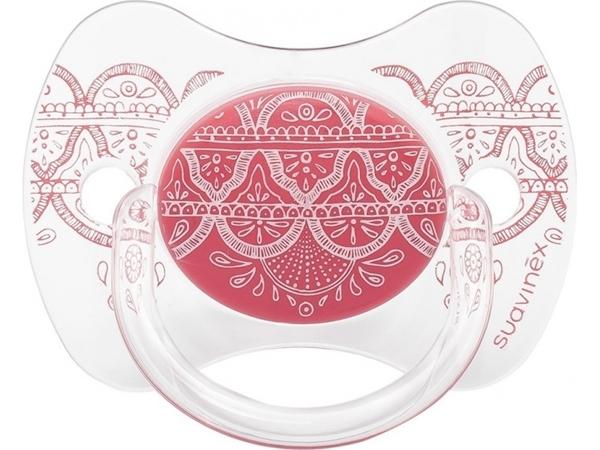 Picture of Suavinex Πιπίλα Σιλικόνης Premium Couture, 0-4M Pink