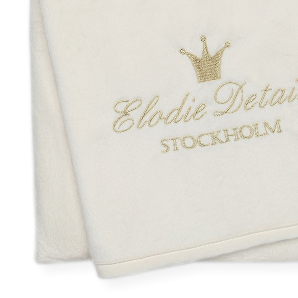 Picture of Elodie Details Κουβέρτα Pearl Velvet Vanilla White