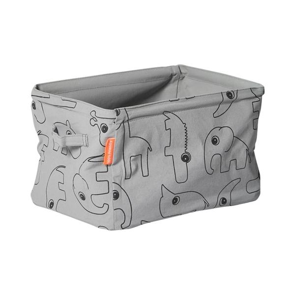 Picture of Done By Deer Μαλακό Kουτί Aποθήκευσης Διπλής Οψης Grey