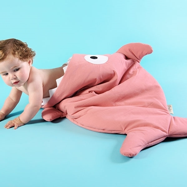 Baby Bites Υπνόσακος Pink Shark Butterflies 2.5 Tog