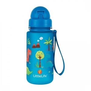 LittleLife Παγούρι 400 ml με καλαμάκι Dinos
