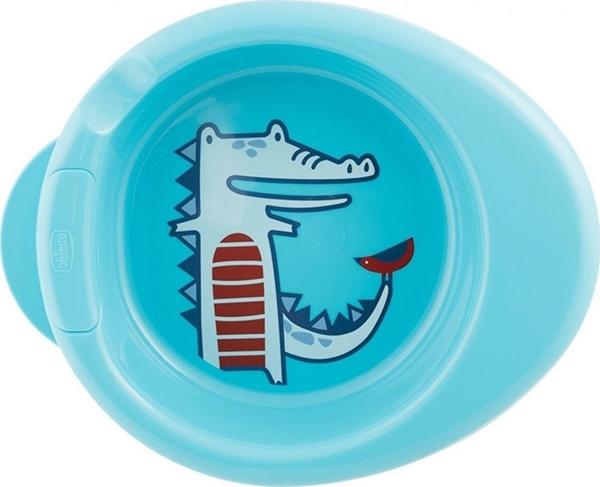 Chicco Warmy Plate Πιάτο Θερμός, Μπλέ 6m+