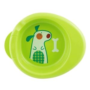 Chicco Warmy Plate Πιάτο Θερμός, Πράσινο 6m+